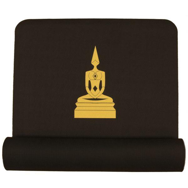 meditator yoga mat