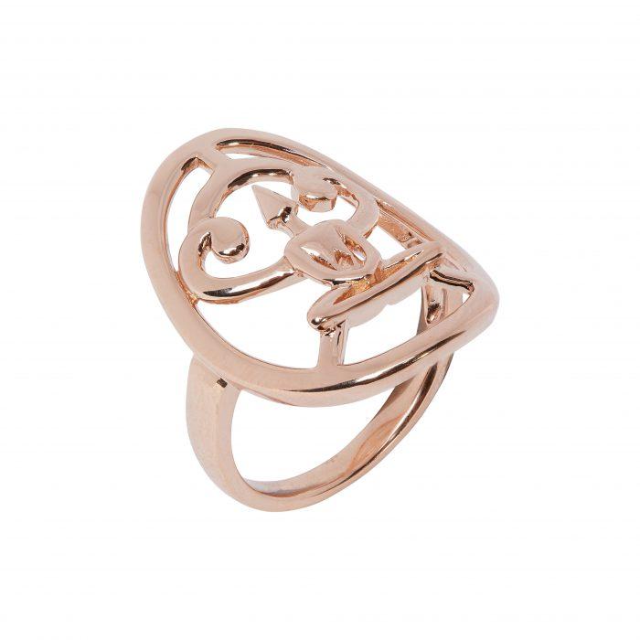 Rose Gold Meditator Ring