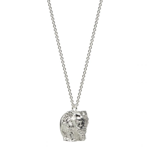 Silver Plated Elephant Necklace