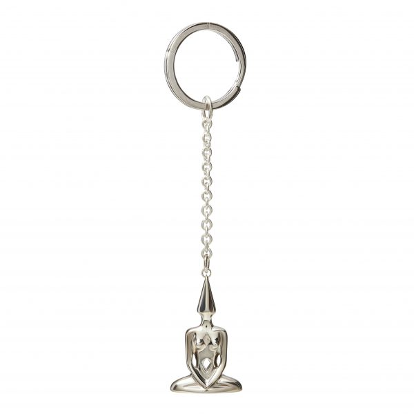 Union Key Ring Silver