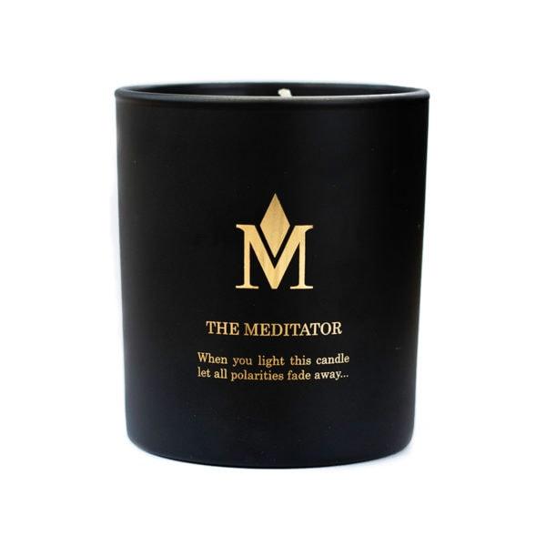 The Meditator Candle